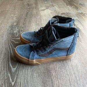 Vans Kids Sk8-Hi Zip Sneaker